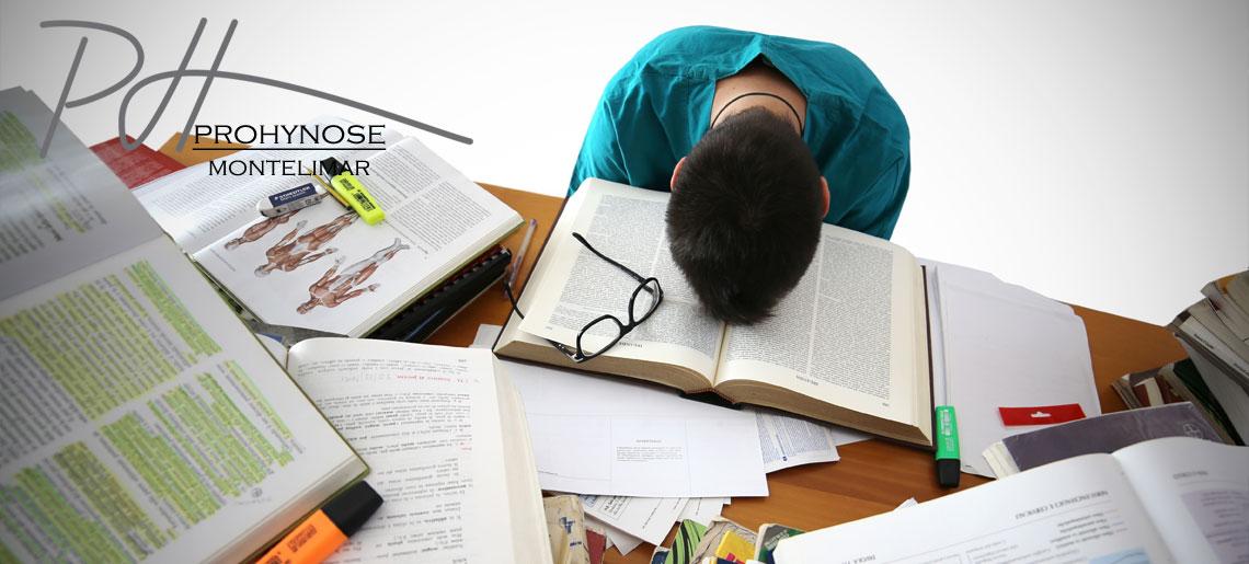 Période d'examens synonyme de stress