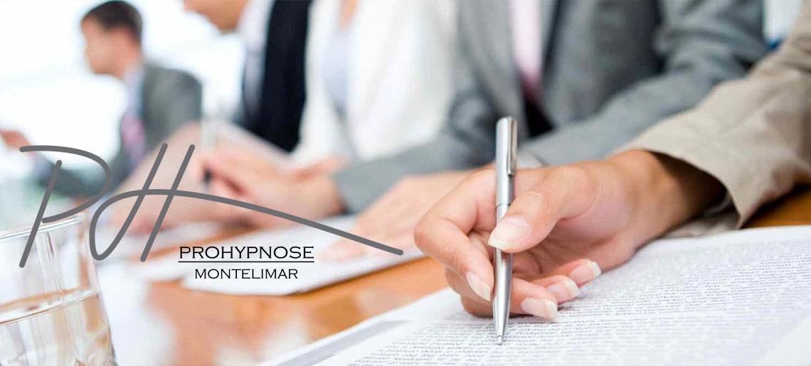 Votre hypnothérapeute n'est pas toujours au bureau